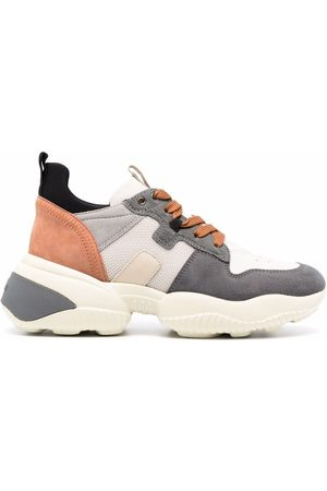 Hogan Interactive lace-up chunky-sole sneakers