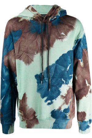 MAUNA KEA Tie-dye drawstring hoodie