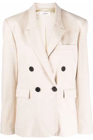 Isabel Marant Double-breasted wool-blend blazer