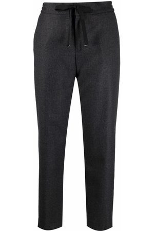 PT01 Cropped wool trousers