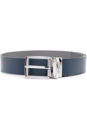 Emporio Armani Niño Cinturones - Buckle-fastening leather belt