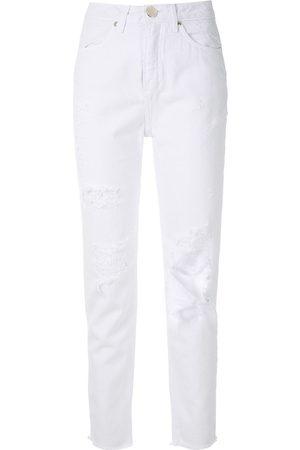Olympiah Mujer Skinny - Jeans con detalles rasgados