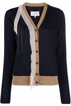 Maison Margiela Deconstructed V-neck cardigan
