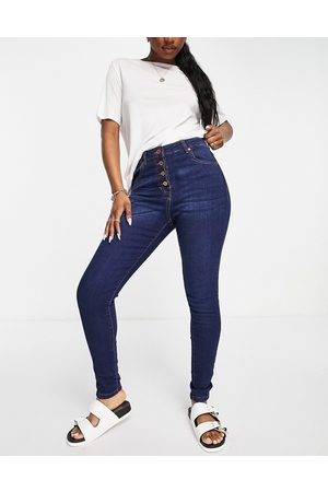 Parisian Mujer Skinny - Button up skinny jeans