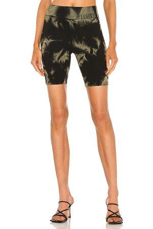 AllSaints Jamie tie dye bike shorts en color negro talla 0 en - Black. Talla 0 (también en 00, 2, 4, 6, 8).