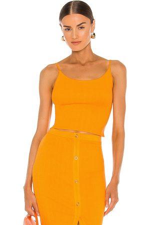 ENZA COSTA Camiseta tirantes en color naranja talla L en - Orange. Talla L (también en M, S, XS).