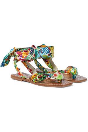Christian Louboutin Mujer Planas - Niloofar printed sandals