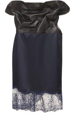 Y PROJECT Mini Falda De Satén Y Encaje