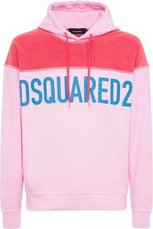 Dsquared2 Sudadera De Jersey Descolorido Con Logo Y Capucha