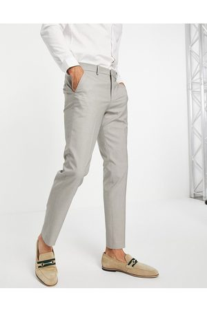 Selected Homme Slim suit trouser in sand