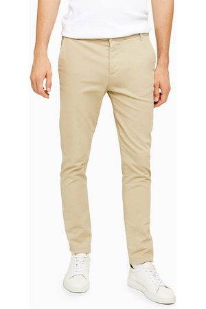Topman Hombre Chinos - Skinny chinos in stone