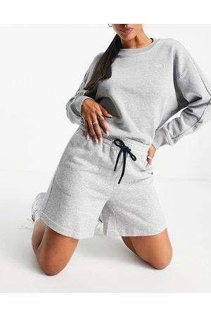 adidas performance Adidas Training Premium Lounge relaxed shorts in grey