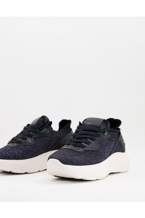 Replay Chunky trainers in black with white sole
