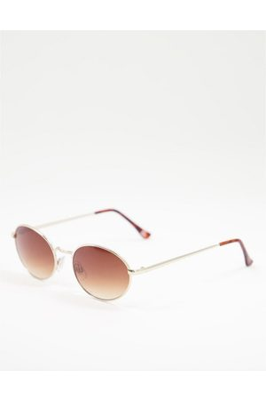 Liars & Lovers Angles round sunglasses in gold