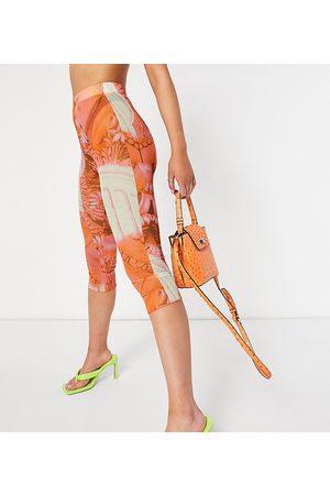 AsYou Mujer Leggings y treggings - Colourful renaissance mesh co