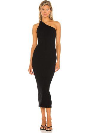 ENZA COSTA Mujer Maxi - Maxivestido en color talla L en - Black. Talla L (también en XS, S, M).