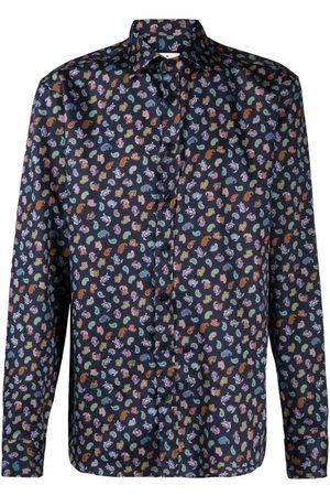 Etro Hombre Camisas - Camisa con estampado de cachemira