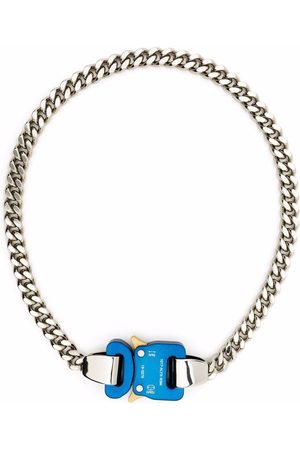 1017 ALYX 9SM Hombre Collares - Collar de cadena de dos tonos