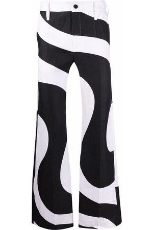 Karl Lagerfeld Pantalones estampados de x Kenneth