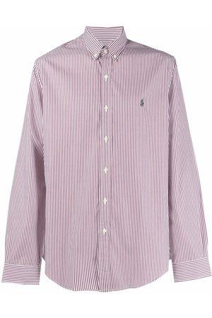 Ralph Lauren Camisa con estampado de rayas diplomáticas