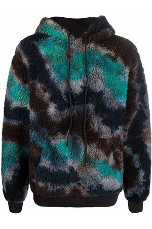 MAUNA KEA Faux-fur hoodie