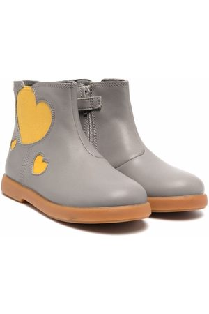 Camper Heart-patch detail boots