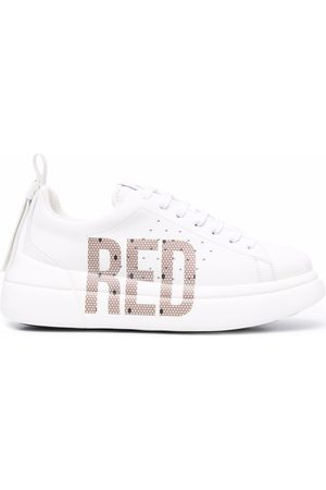 RED(V) Mujer Tenis - Bowalk point d'esprit logo sneakers