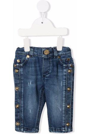 Balmain Stud-detail denim jeans