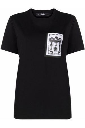 Karl Lagerfeld Camiseta con estampado K/Maison