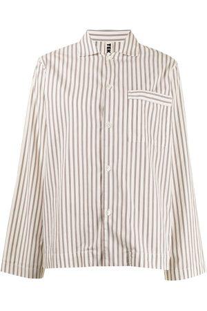 Tekla Camisa de pijama con rayas estampadas