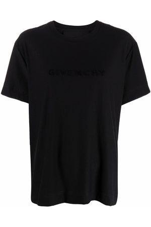 Givenchy Camiseta con logo estampado