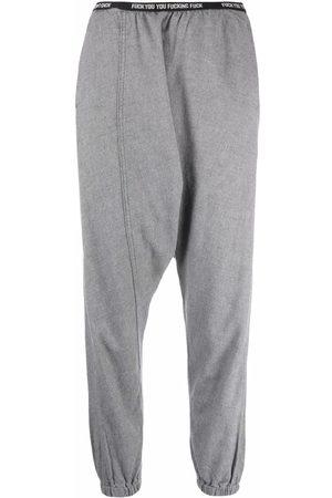 R13 Mujer Pantalones y Leggings - Drop-crotch tapered trousers