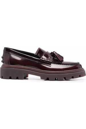 Tod's Joey chunk sole loafers