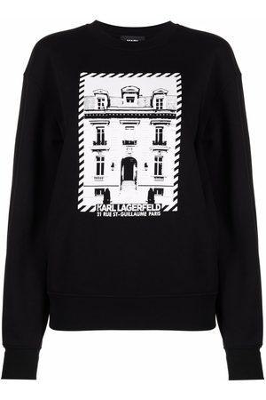 Karl Lagerfeld Sudadera con estampado K/Maison