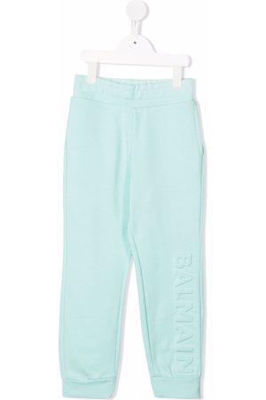 Balmain Pantalones de chándal con logo