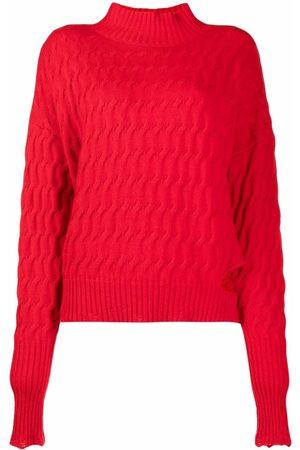 Pinko Suéter en tejido de ochos