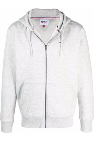 Tommy Hilfiger Flag patch rib-trimmed hoodie