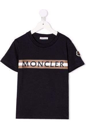 Moncler Niño Playeras - Embroidered-logo T-shirt