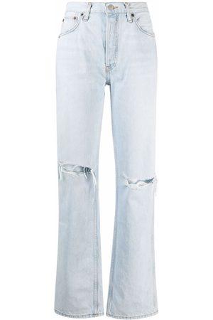 RE/DONE Jeans con efecto lavado