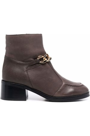 See by Chloé Chain-link ankle boots