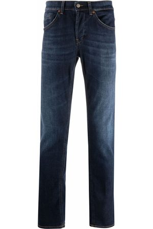 Dondup Hombre Rectos - Mid-rise straight-leg jeans