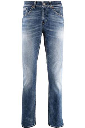 Dondup Hombre Rectos - Low-rise straight-leg jeans