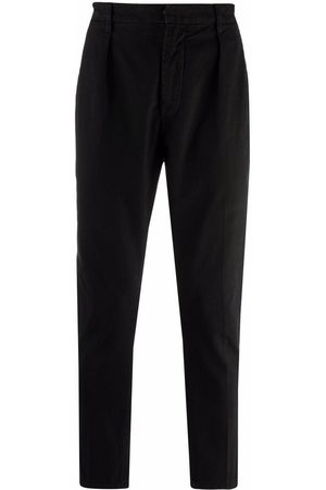 Dondup High-waisted tapered chinos
