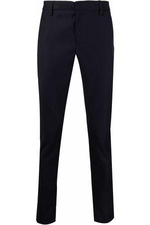 Dondup Hombre De vestir - Straight-leg virgin wool trousers