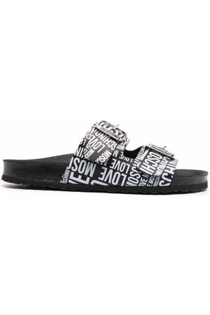 Love Moschino All-over logo-print sandals