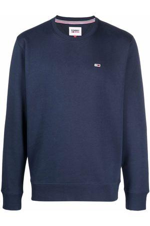 Tommy Hilfiger Logo-patch crew neck sweatshirt