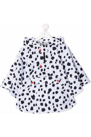 Stella McCartney Niña Ponchos y capas - Capa con manchas de dálmatas