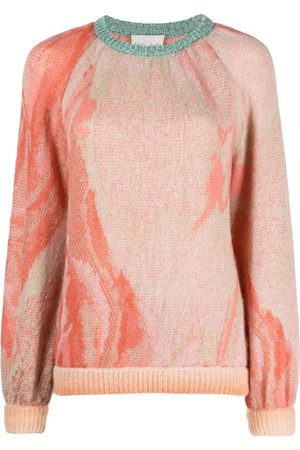 FORTE FORTE Suéter tejido con efecto degradado