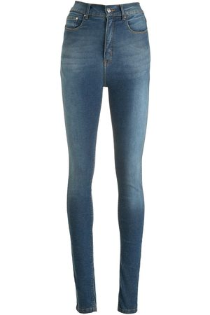 AMAPÔ Skinny jeans con tiro alto