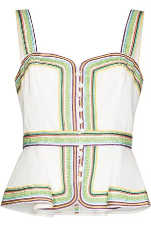 Zimmermann Mujer Blusas - Mae corded-detail blouse